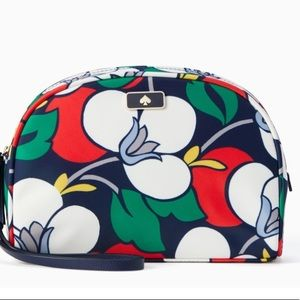 NWT kate spade Dawn Breezy Floral dome cosmetic